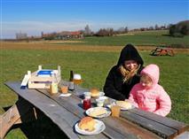 Padvinders picknickkrat