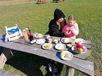 Gezonde picknickkrat